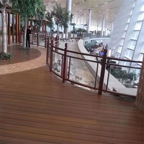 昆明门市塑木地板、护栏工程