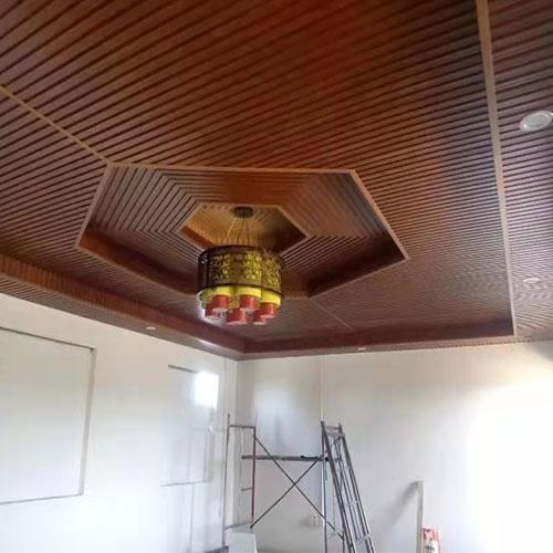 塑木板吊顶安装工程
